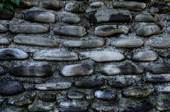 Parede feita da pedra Fotografia de Stock
