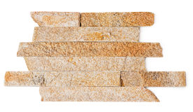 Parede feita da pedra da ardósia Imagem de Stock Royalty Free