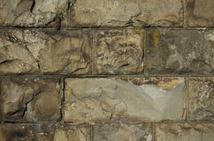 Parede feita das pedras Imagens de Stock Royalty Free