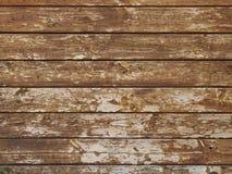 Parede feita de placas de madeira velhas Imagem de Stock
