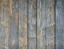 Parede feita de pranchas de madeira Imagens de Stock