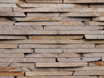 Parede feita dos tijolos do sandstone Fotos de Stock