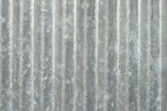 Parede galvanizada do ferro Imagens de Stock