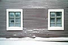 Parede gelado Imagens de Stock
