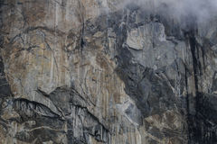 Parede grande Cimbing, Yosemite Imagens de Stock