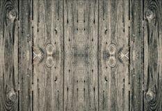 Parede grande do tamanho da textura de madeira com pregos Imagens de Stock