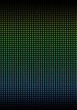 A parede iluminada com colorido Foto de Stock