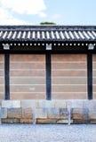 Parede interna, castelo japonês Imagem de Stock
