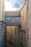 Parede interna de Saint Michael'sMount, France Imagem de Stock Royalty Free