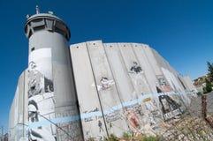 Parede israelita da separação foto de stock royalty free