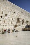 Parede lamentando em Jerusalem Fotografia de Stock