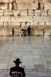 A parede lamentando - Jerusalem Foto de Stock Royalty Free