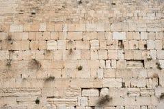 Parede lamentando Kotel, parede ocidental útil para o fundo Jerusalem, Israel imagens de stock