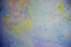 Parede manchada com cor e textura macias foto de stock royalty free
