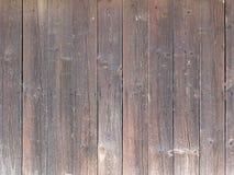 Parede marrom natural da madeira do celeiro Imagens de Stock Royalty Free