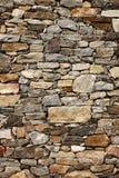 Parede medieval dos blocos de pedra foto de stock