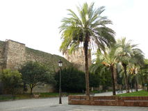 Parede medieval em Talavera de la Reina, Espanha Foto de Stock Royalty Free