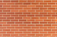 Parede moderna, tijolo vermelho Fotografia de Stock