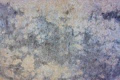 Parede muito suja do cimento Foto de Stock
