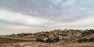 Parede no Jerusalém foto de stock