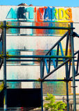 Parede norte da C.C. de Art Yards Imagens de Stock
