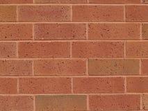 Parede nova do vermelho de tijolo Fotografia de Stock