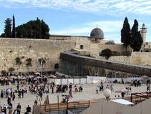 Parede ocidental 2012 do Jerusalém Fotos de Stock