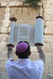 A parede ocidental em Jerusalem Fotos de Stock Royalty Free