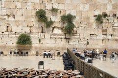 Parede ocidental em Jerusalem imagens de stock