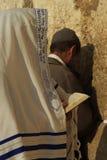 Parede ocidental em Jerusalem   Imagens de Stock Royalty Free