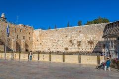 A parede ocidental, Jerusalém Imagem de Stock