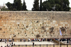 Parede ocidental, Jerusalém, Israel Fotos de Stock Royalty Free