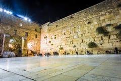Parede ocidental, Jerusalem, Israel Fotos de Stock