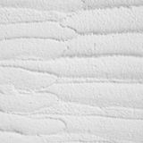 Parede ondulada branca do emplastro Imagem de Stock Royalty Free