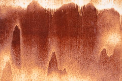 Parede oxidada do metal Imagens de Stock