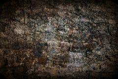 Parede oxidada do metal com beira Imagens de Stock Royalty Free