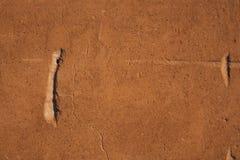 Parede oxidada do sumário da textura do fundo do ferro de Brown imagem de stock