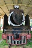 Parede oxidada no trem da segunda guerra mundial Fotografia de Stock