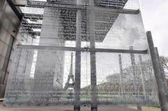 A parede para a paz em Paris Foto de Stock Royalty Free
