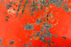 Parede pintada bege oxidada do metal imagem de stock royalty free