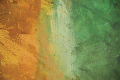 Parede pintada do estuque imagens de stock