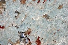 Parede pintada para o fundo Fotos de Stock Royalty Free