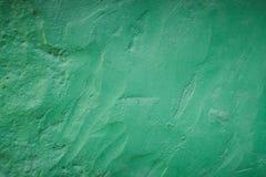 Parede pintada verde Fotografia de Stock Royalty Free