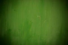 Parede pintada verde Imagem de Stock Royalty Free