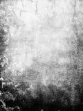 Parede preta de Grunge Foto de Stock