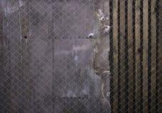 Parede preta velha Parede da madeira da textura do Grunge Imagem de Stock Royalty Free