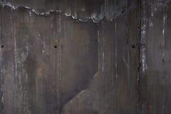 Parede preta velha Fundo da textura de Grunge Fotos de Stock