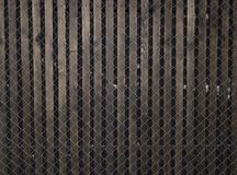 Parede preta velha Fundo de madeira da parede da textura do Grunge Imagem de Stock
