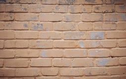 parede que de tijolo alaranjada velha um bocado regou imagem de stock royalty free