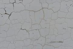 Parede rachada escura Foto de Stock Royalty Free